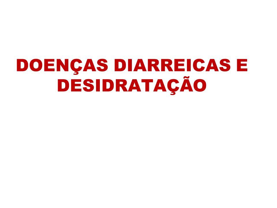CARACTERÍSTICAS DOS DIFERENTES TIPOS DE DESIDRATAÇÃO