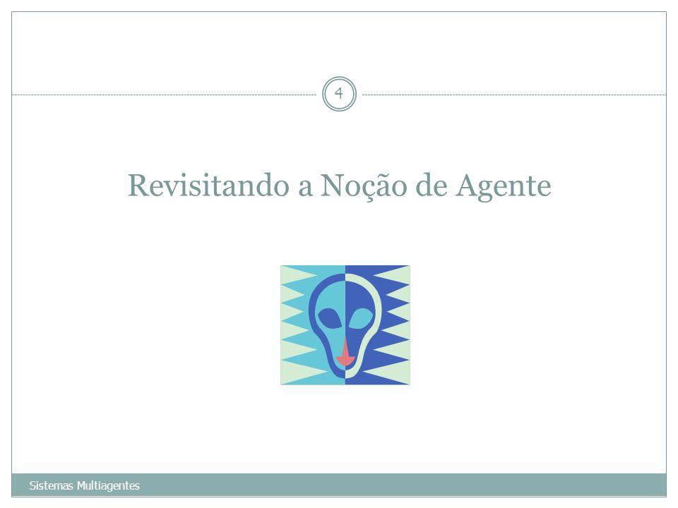 Revisitando a Noção de Agente Sistemas Multiagentes 4
