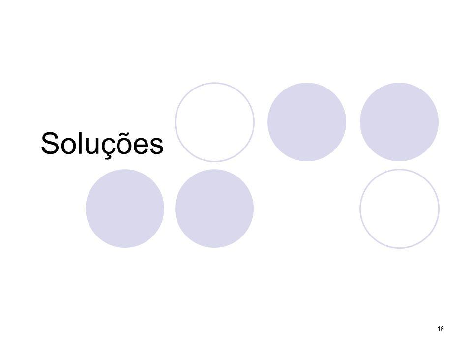 Soluções 16