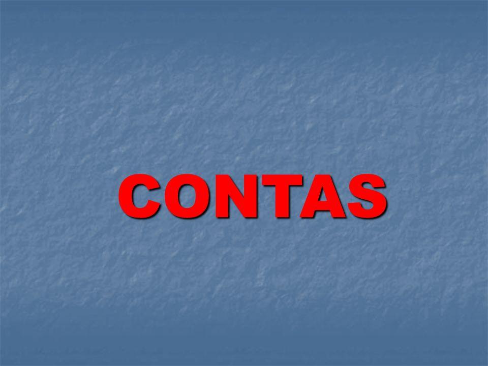 CONTAS