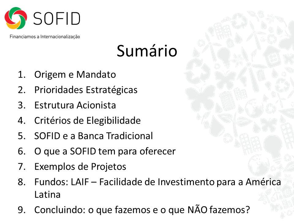 LAIF Nicarágua Construção de infraestruturas energéticas – Programa para as Energias Renováveis Líder: BEI Outras: BID, AECID, BCIE Custo Total: 309 Mio Apoio LAIF: 7,0 Mio 8.