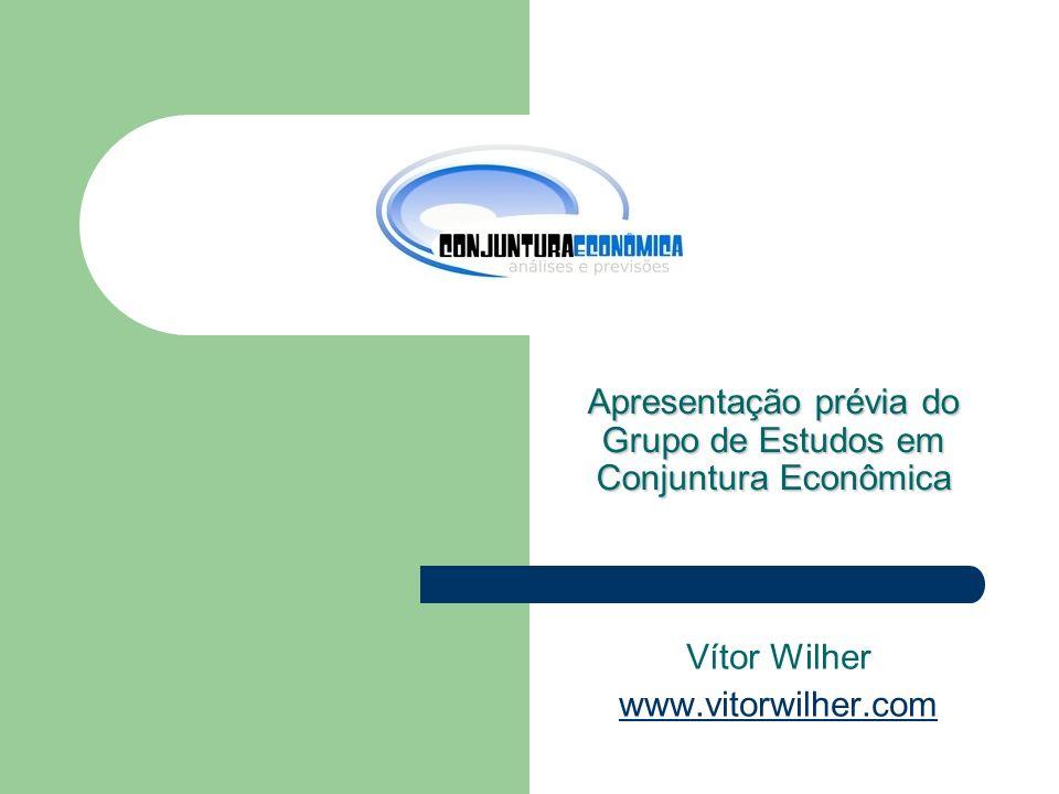 Objetivo Formar um grupo de estudos voltado para a análise do comportamento de variáveis macroeconômicas, com foco na implementação da política monetária brasileira.