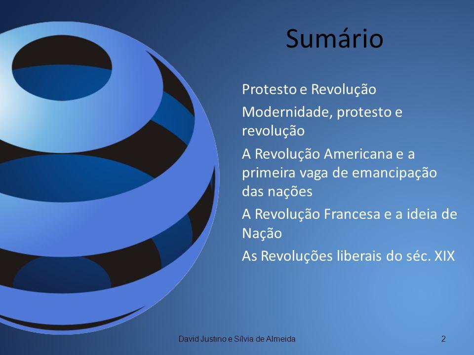 Protesto e Revolução David Justino e Sílvia de Almeida3