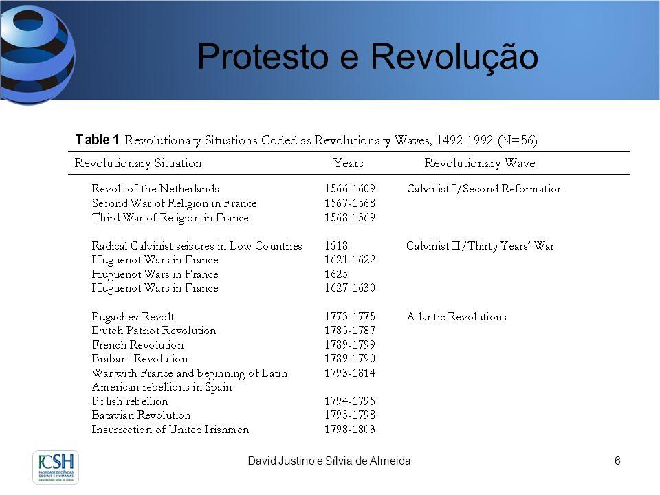 David Justino e Sílvia de Almeida7 Protesto e Revolução