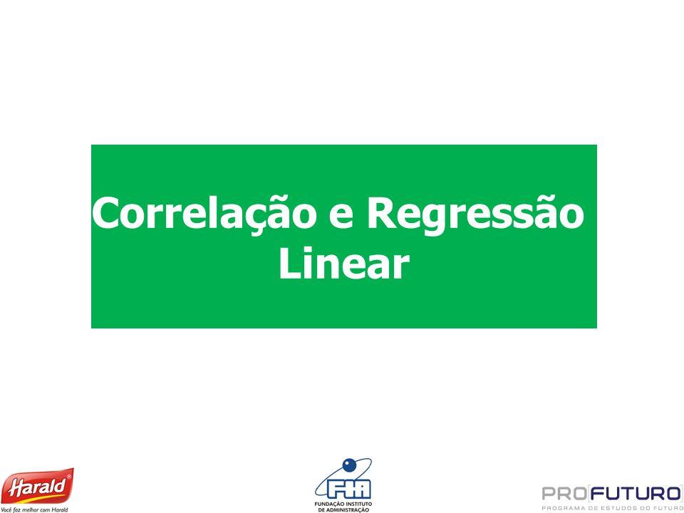 Correlação e Regressão Linear