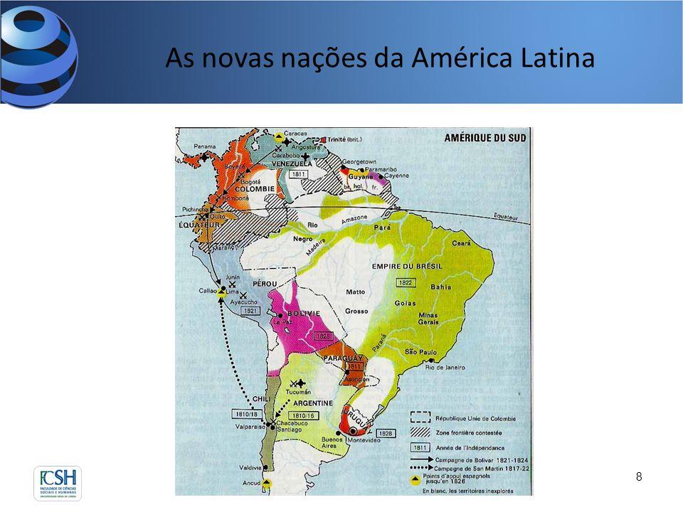 As novas nações da América Latina 8