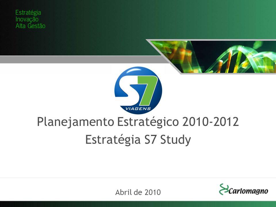 Planejamento Estratégico 2010-2012 Estratégia S7 Study Abril de 2010