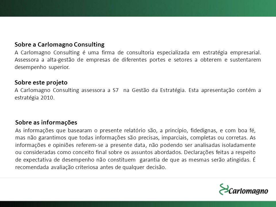 Sobre a Carlomagno Consulting A Carlomagno Consulting é uma firma de consultoria especializada em estratégia empresarial. Assessora a alta-gestão de e
