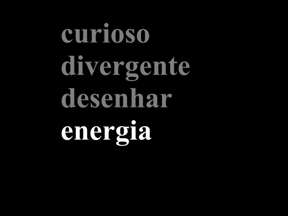 curioso divergente desenhar energia