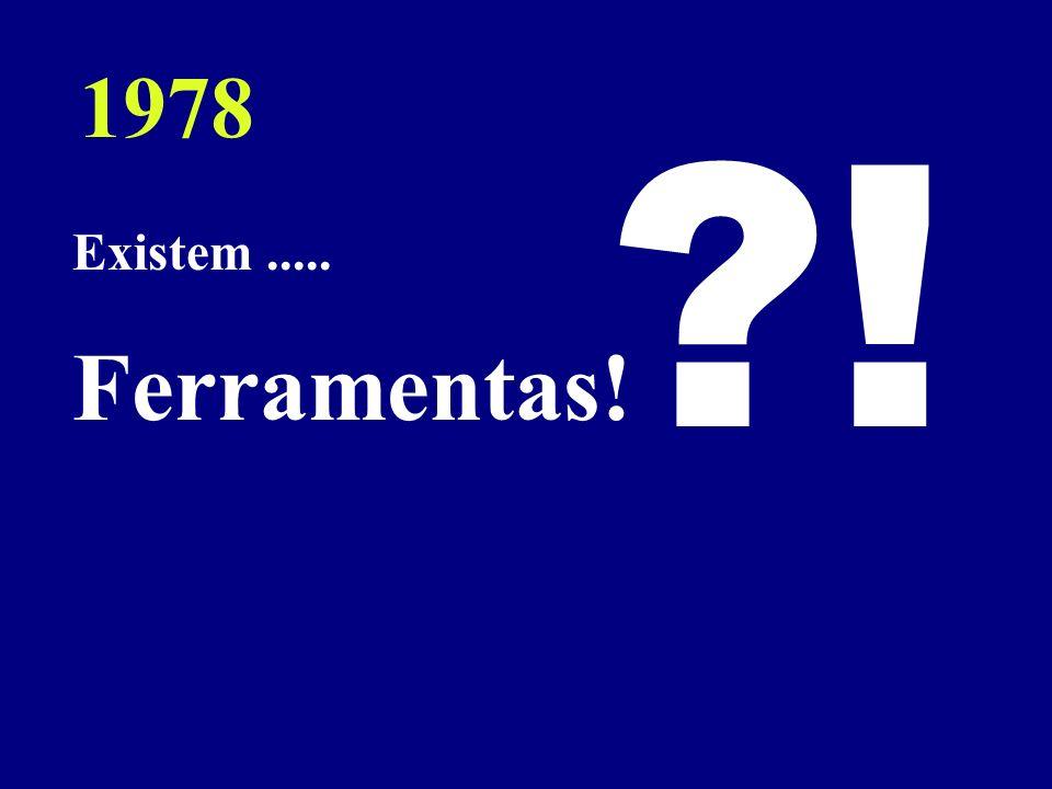 Existem..... Ferramentas! ?! 1978