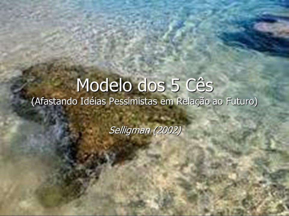 Modelo dos 5 Cês (Afastando Idéias Pessimistas em Relação ao Futuro) Selligman (2002)