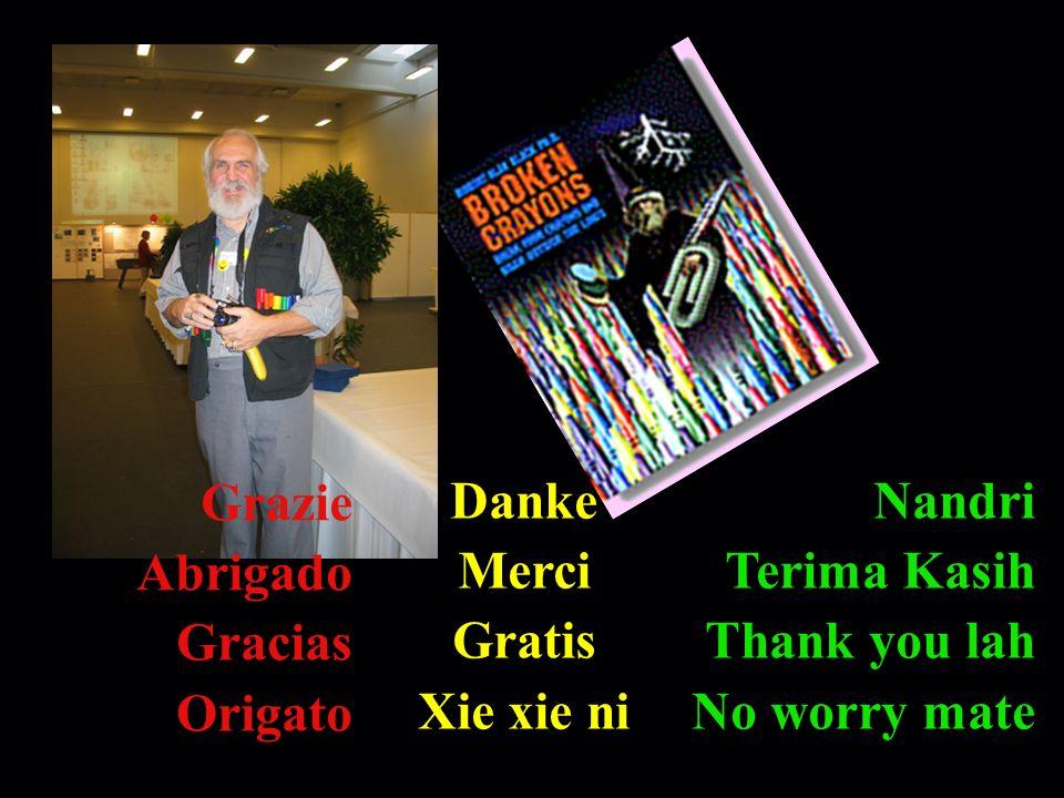 Nandri Terima Kasih Thank you lah No worry mate Grazie Abrigado Gracias Origato Danke Merci Gratis Xie xie ni