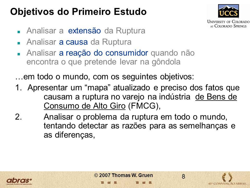 P: O QUE MUDOU NAS TAXAS DE RUPTURA.