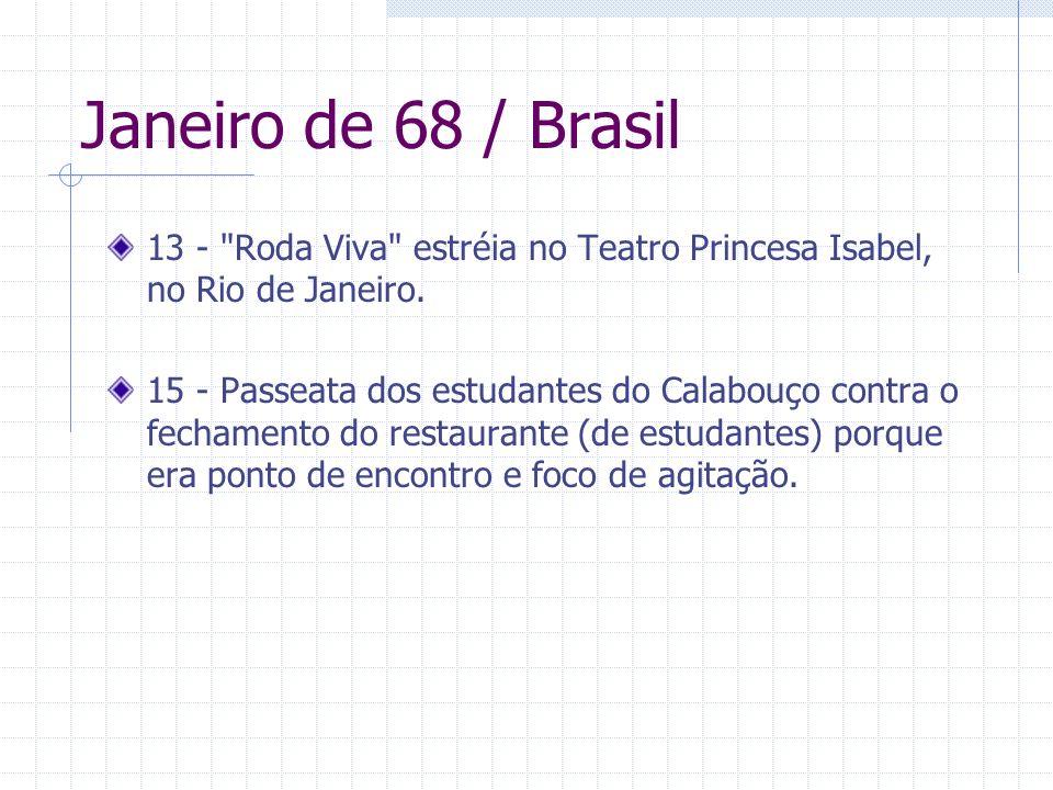 Janeiro de 68 / Brasil 13 -