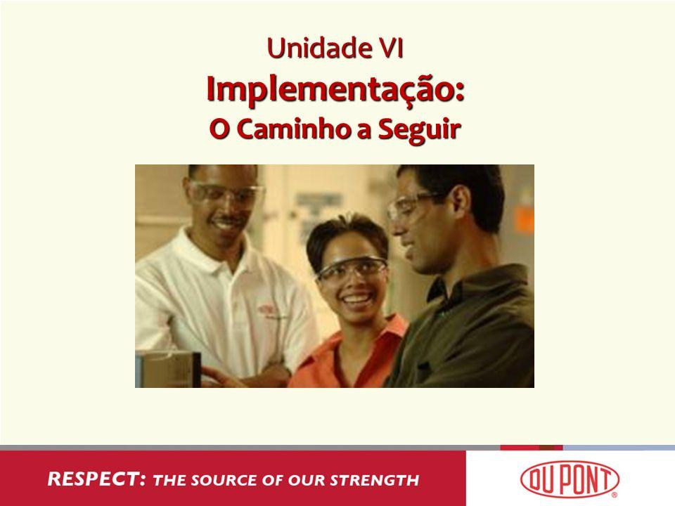 Unidade VI Implementação: O Caminho a Seguir