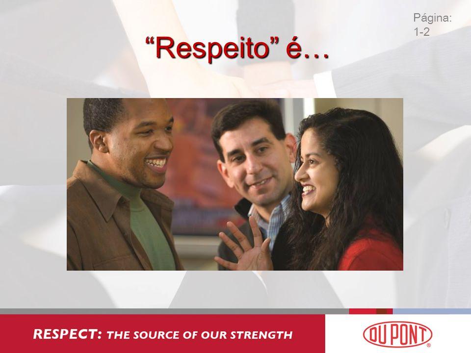 Respeito é… Página: 1-2