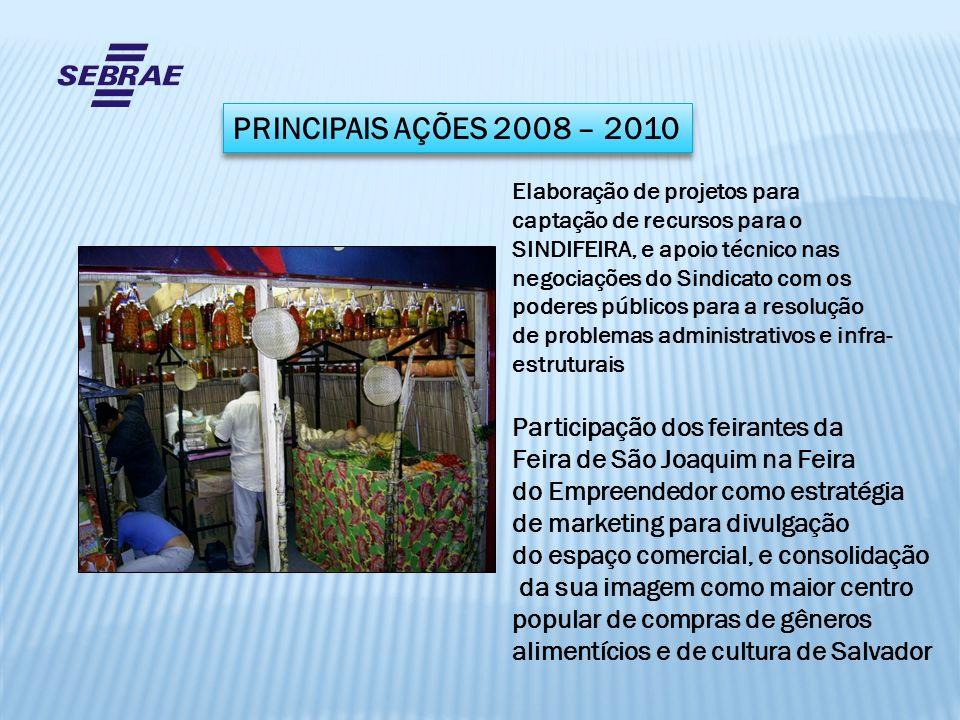 Participação dos feirantes da Feira de São Joaquim na Feira do Empreendedor como estratégia de marketing para divulgação do espaço comercial, e consol