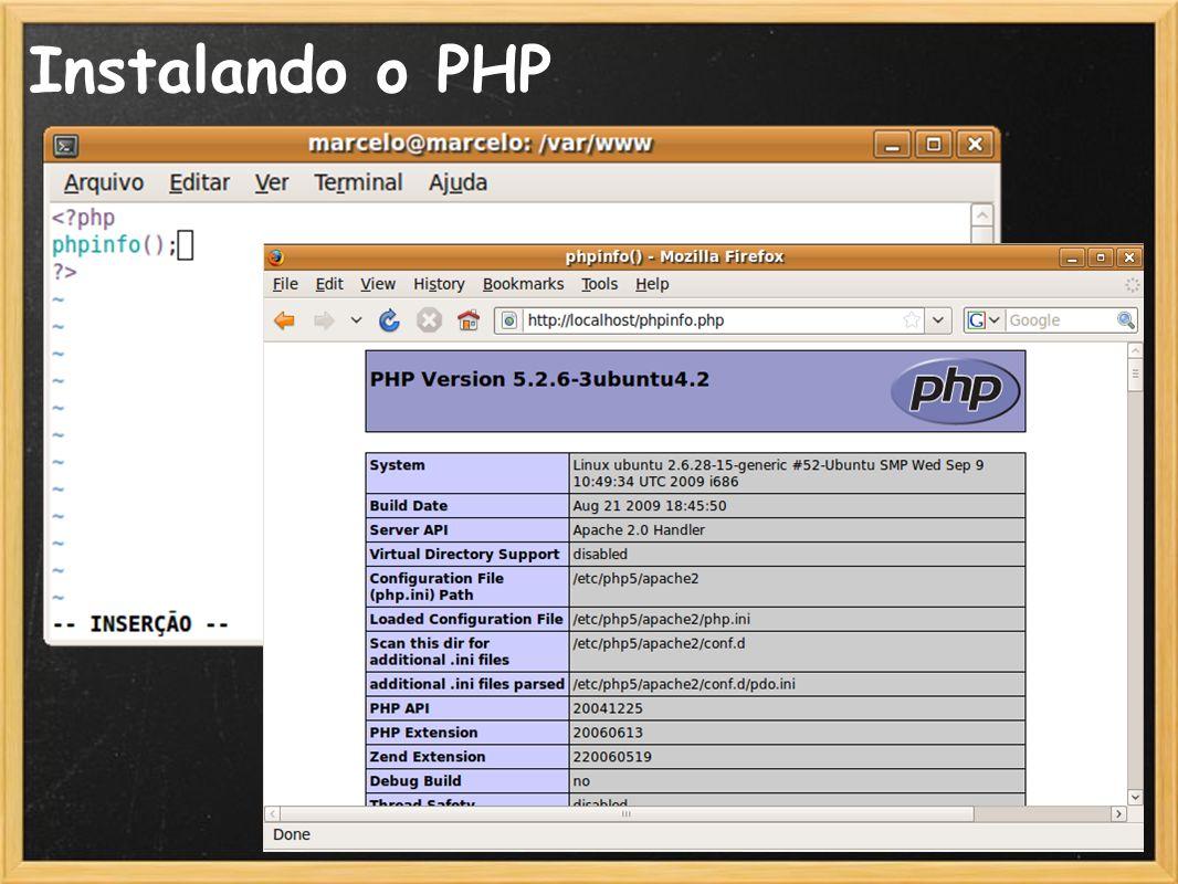 19 Instalando o PHP