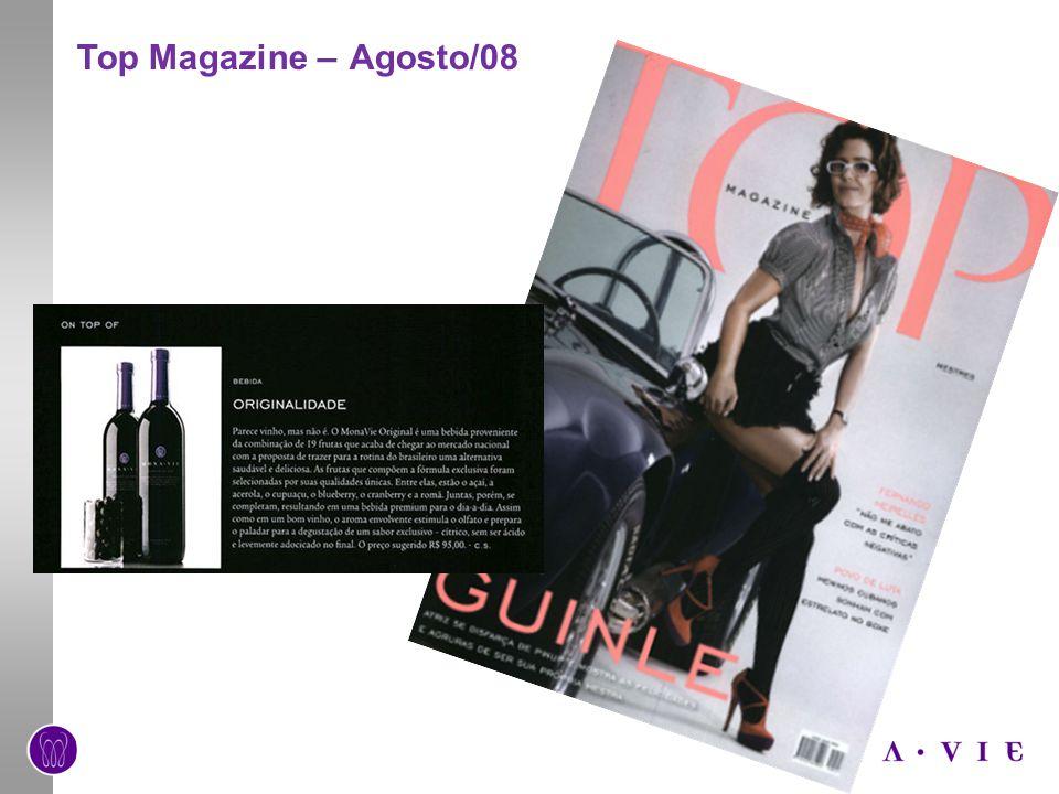 Top Magazine – Agosto/08