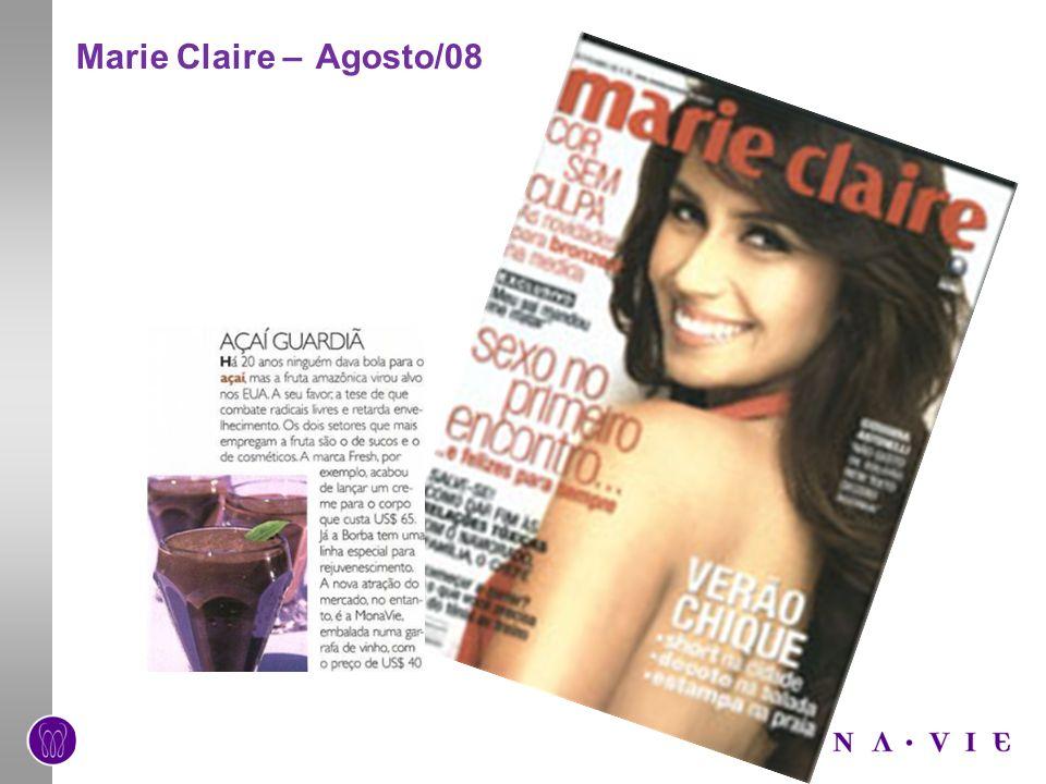 Marie Claire – Agosto/08
