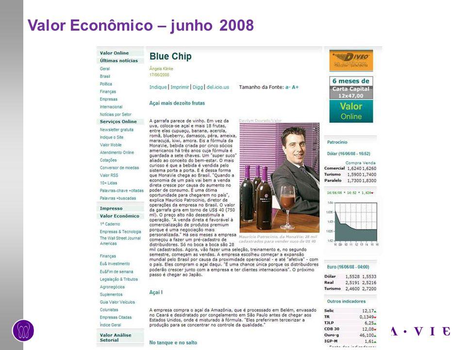 Valor Econômico – junho 2008