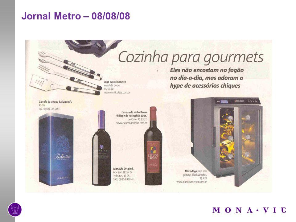 Jornal O Globo – 01/12/08