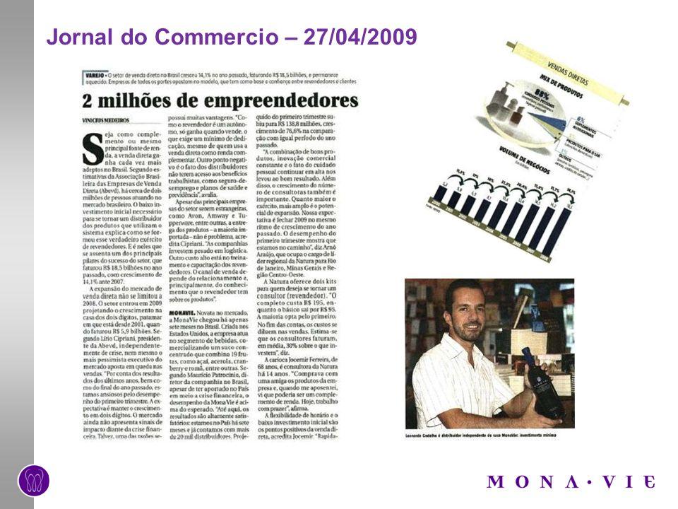 Jornal do Commercio – 27/04/2009