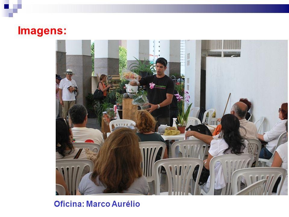 Imagens: Oficina: Marco Aurélio