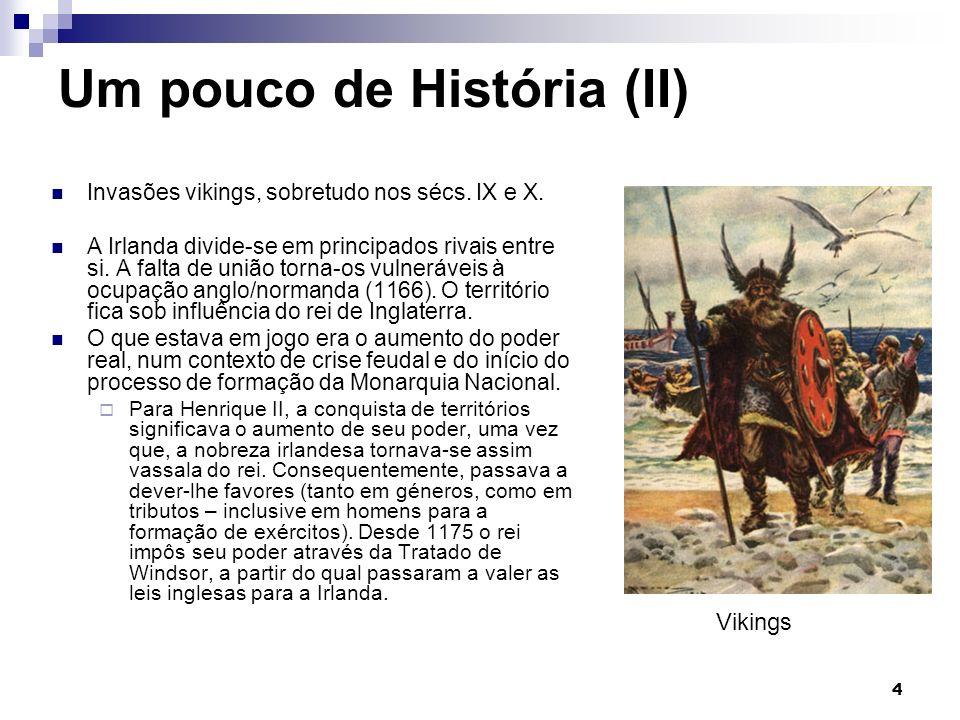 Um pouco de História (II) Invasões vikings, sobretudo nos sécs.