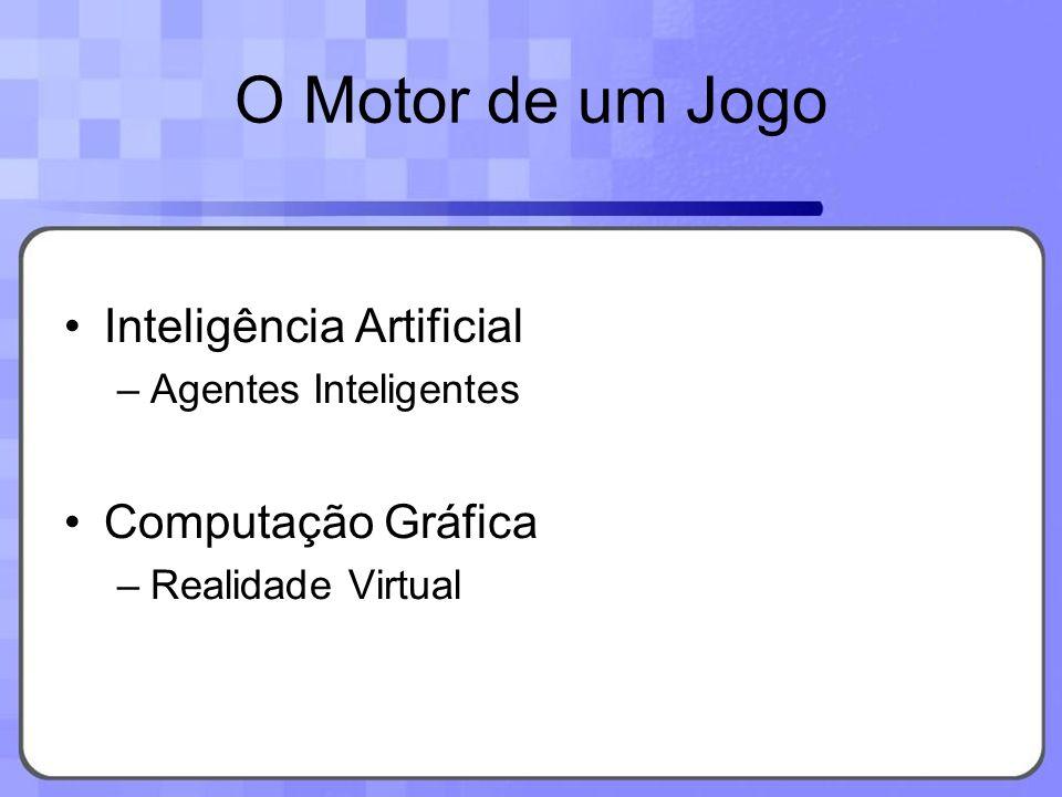 Inteligência Artificial –Agentes Inteligentes Computação Gráfica –Realidade Virtual