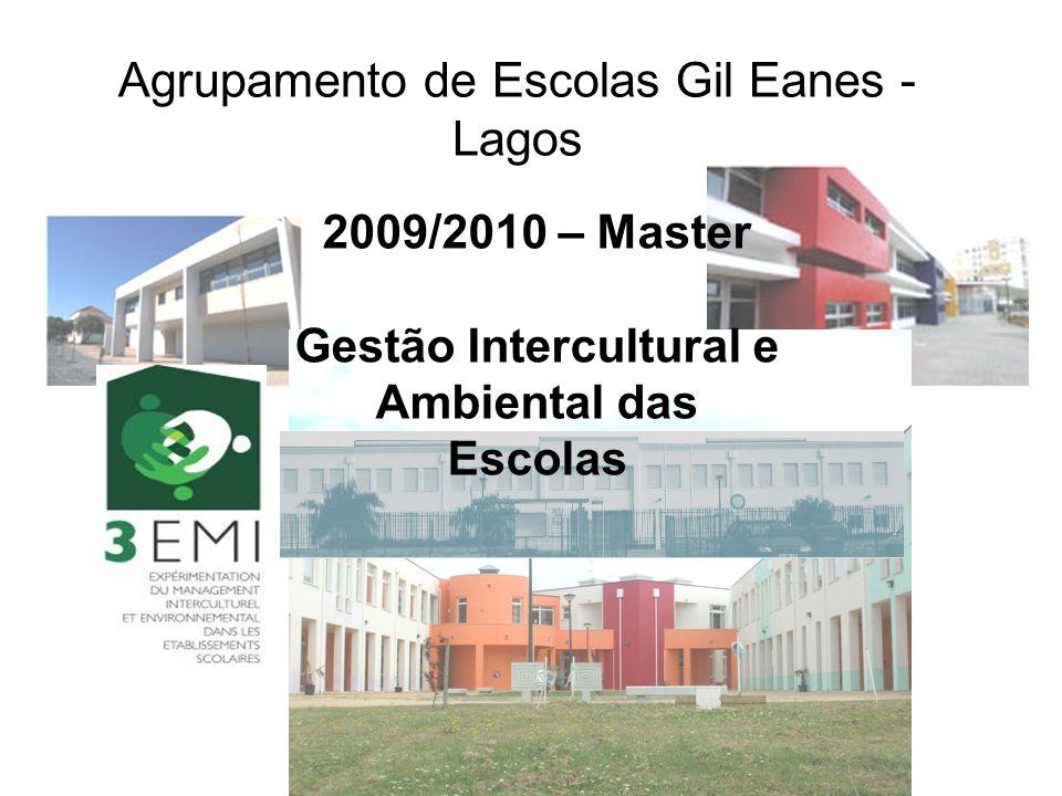 Agrupamento de Escolas Gil Eanes - Lagos 2009/2010 – Master Gestão Intercultural e Ambiental das Escolas