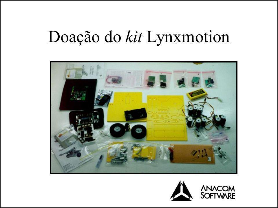 Doação do kit Lynxmotion