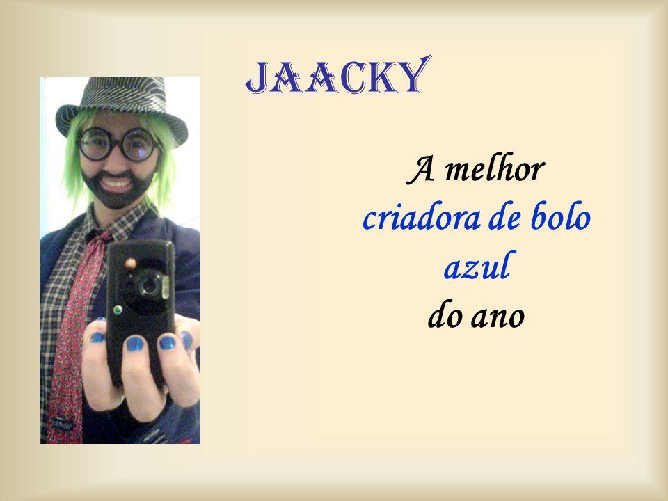 jaacky A melhor criadora de bolo azul do ano