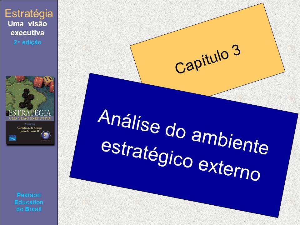 Estratégia Uma visão executiva Pearson Education do Brasil 2ª edição Capítulo 3 Análise do ambiente estratégico externo