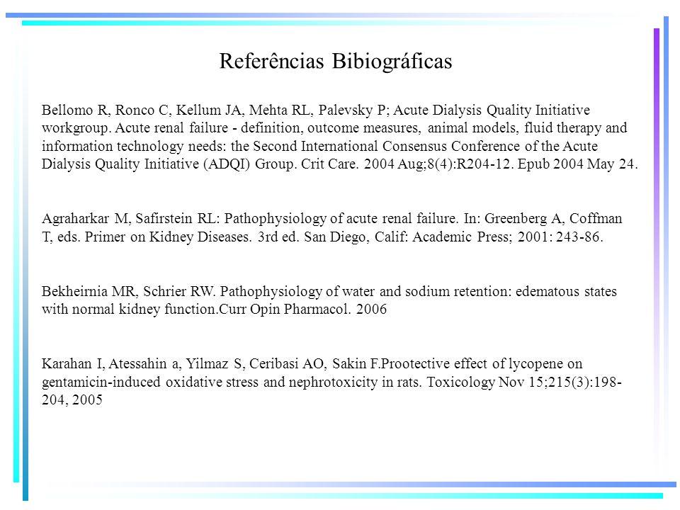 Bellomo R, Ronco C, Kellum JA, Mehta RL, Palevsky P; Acute Dialysis Quality Initiative workgroup. Acute renal failure - definition, outcome measures,