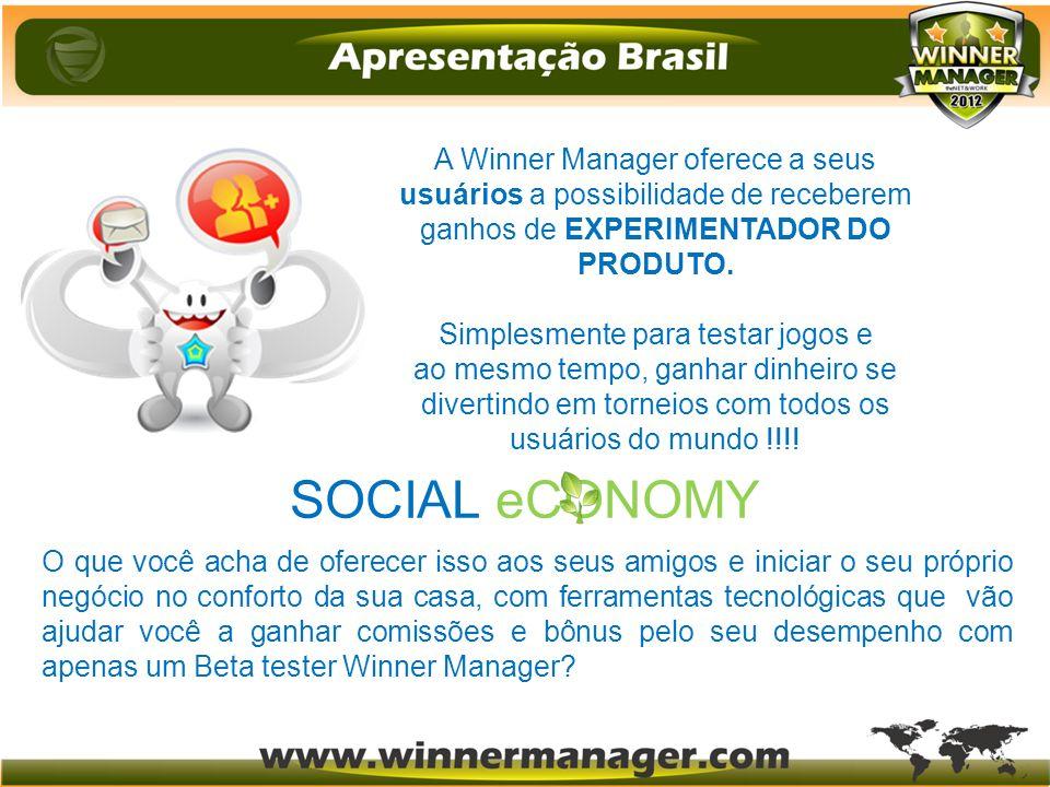 A Winner Manager oferece a seus usuários a possibilidade de receberem ganhos de EXPERIMENTADOR DO PRODUTO. Simplesmente para testar jogos e ao mesmo t