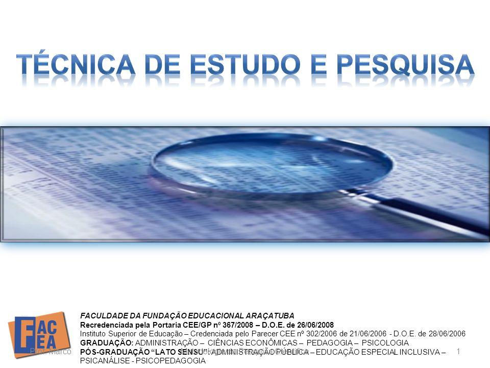 Citações em documentos Segundo a ABNT/NBR 10520: 2002 Apresentação elaborada com base na ABNT e no material disponível na Unesp/ Rio Claro (2011) Araçatuba - SP 2012 PROF.