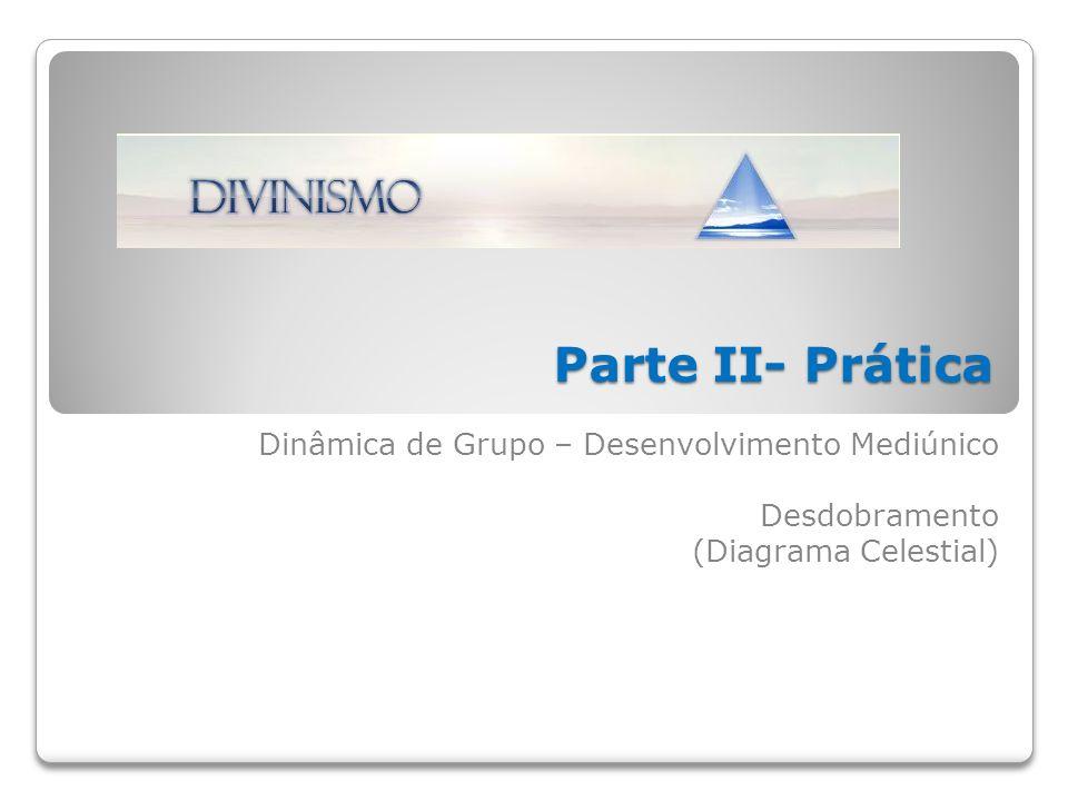 Dinâmica de Grupo – Desenvolvimento Mediúnico Desdobramento (Diagrama Celestial) Parte II- Prática