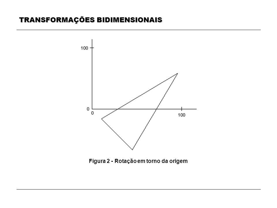 Figura 2 - Rotação em torno da origem
