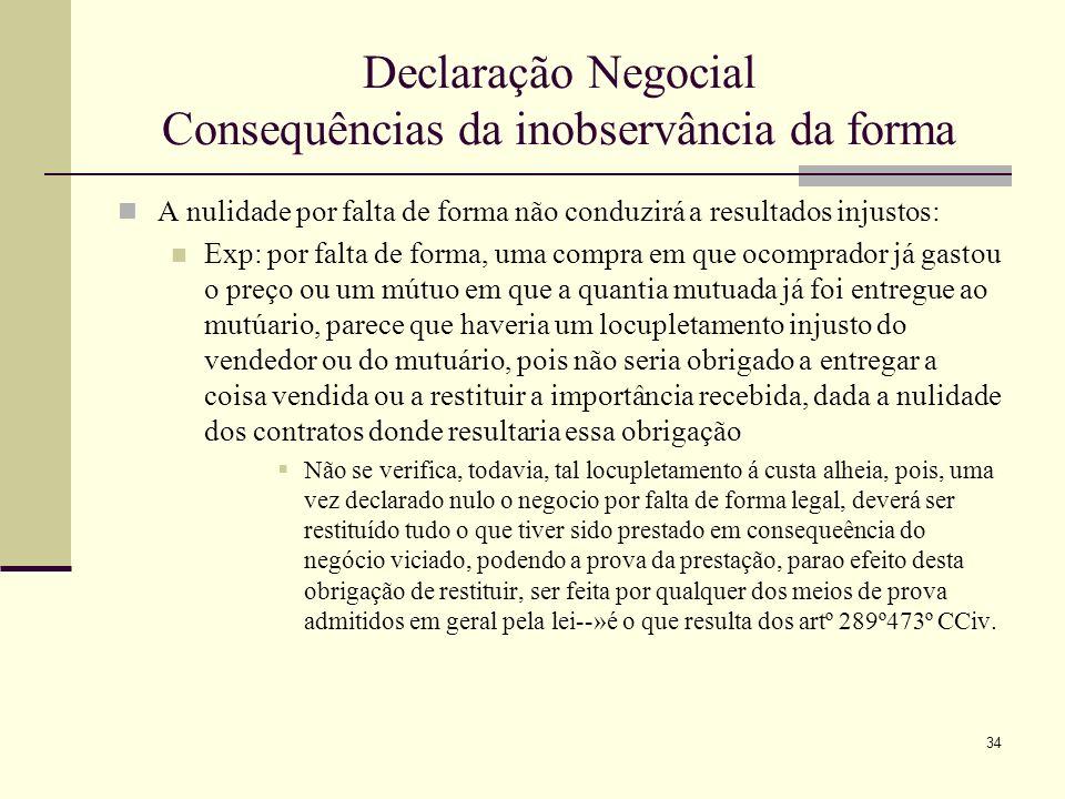 35 Perfeição da Declaração Negocial «Oliveira Ascensão, pág.