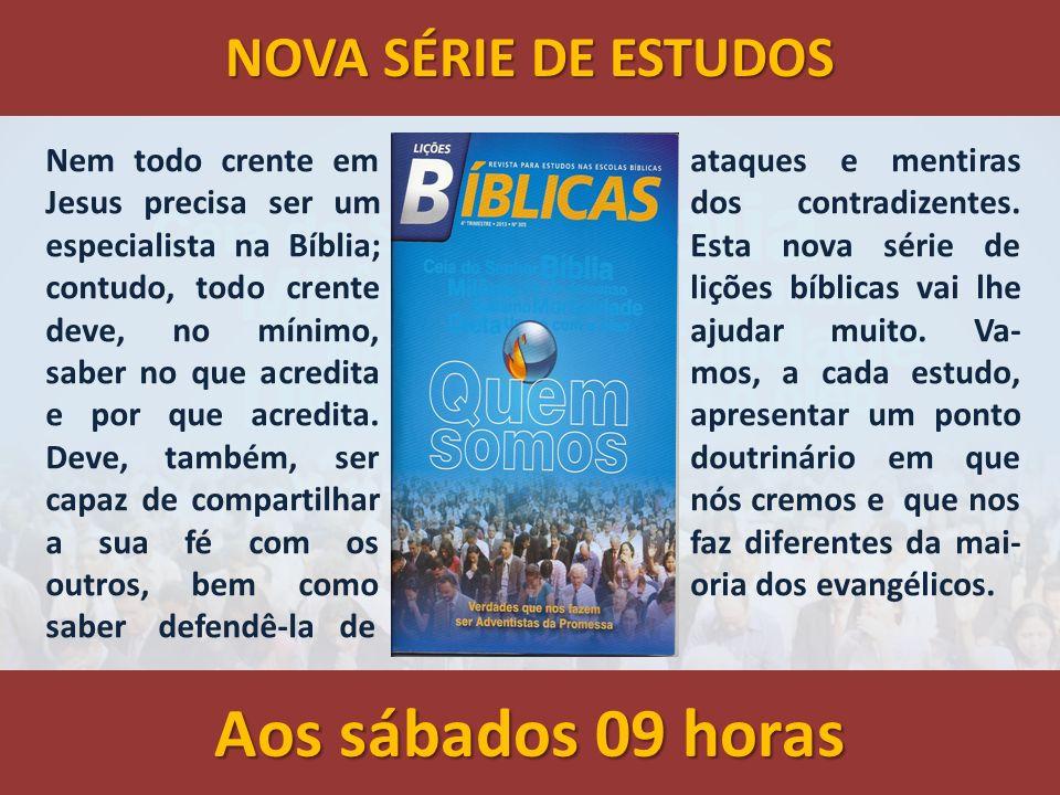 A suficiência da Bíblia LIÇÃO 01