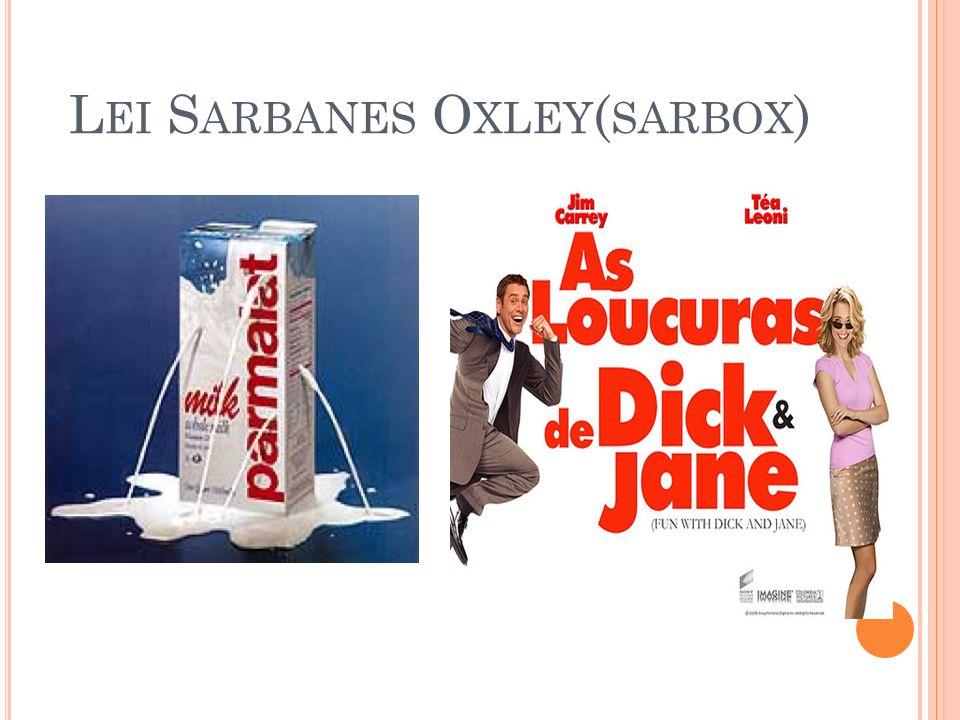 L EI S ARBANES O XLEY ( SARBOX )
