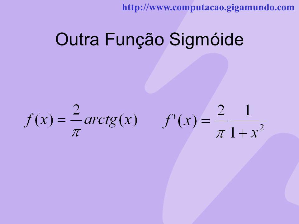 http://www.computacao.gigamundo.com Outra Função Sigmóide