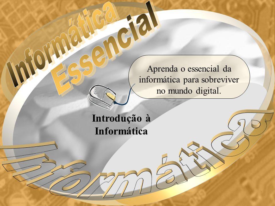 Introdução à Informática Aprenda o essencial da informática para sobreviver no mundo digital.