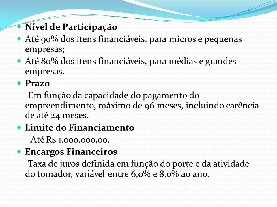 Credifácil Cultura Giro Objetivos Financiamento de capital de giro.