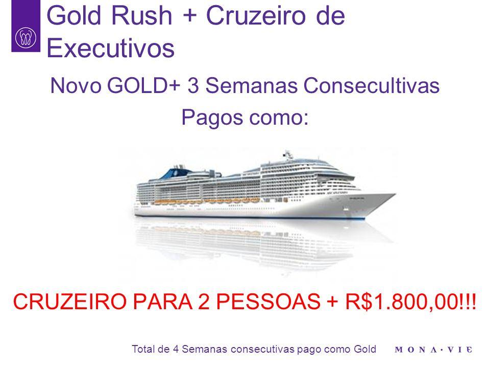 8 Título Semanas pago como Cruzeiro de Executivos Valor R$ STAR 5003_R$225,00 STAR 10003_R$450,00 BRONZE31 PESSOA_ SILVER32 PESSOAS_ GOLD42 PESSOASR$1.800,00 RUBY42 PESSOASR$3.600,00 ESMERALDA42 PESSOASR$5.400,00 Cruzeiro de Executivos