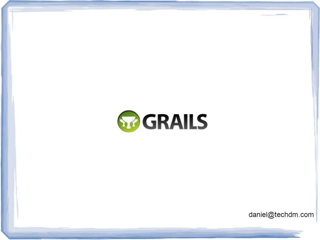 O que é Grails.Grails é um framework open source para a construção de aplicações Java/JEE.