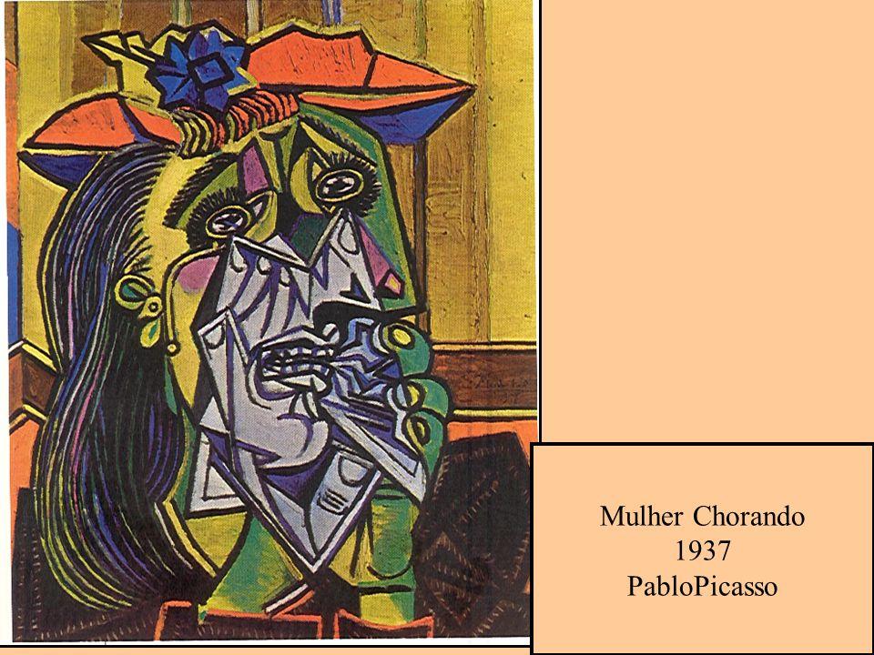 Mulher Chorando 1937 PabloPicasso