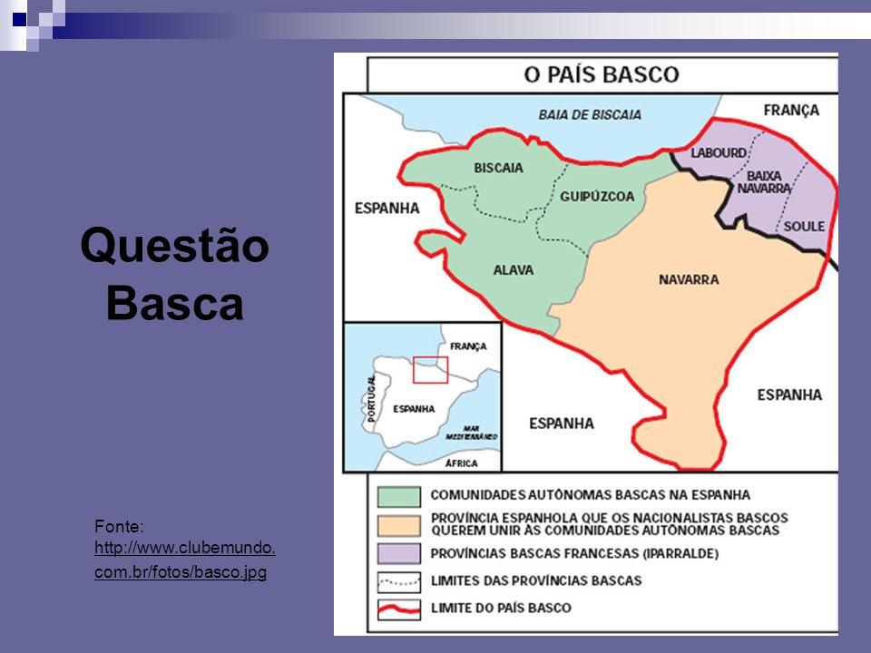 Fonte: http://www.clubemundo. com.br/fotos/basco.jpg Questão Basca