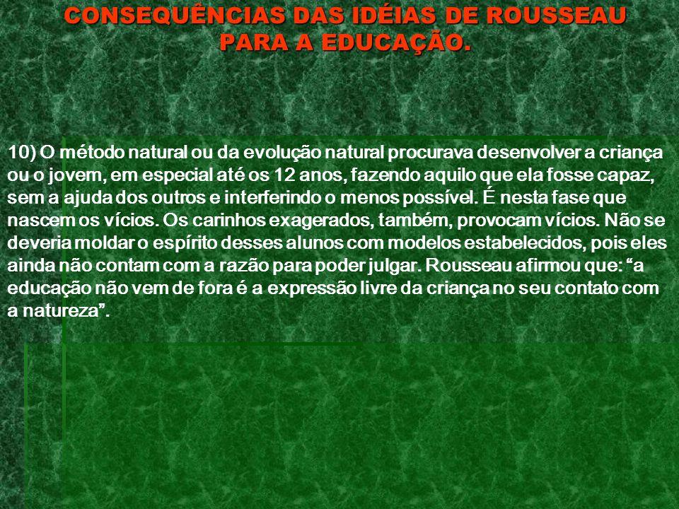 IMPORTÂNCIA DA FILOSOFIA DE ROUSSEAU PARA O CURSO DE LETRAS.